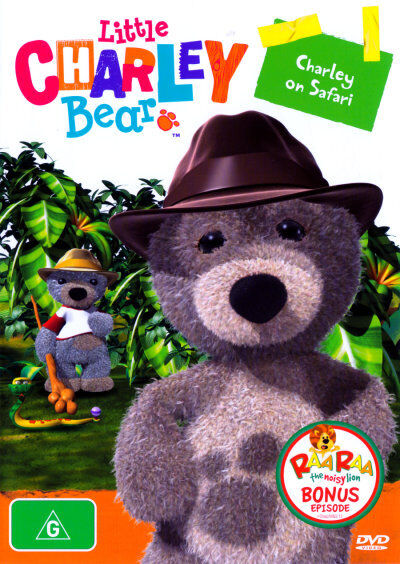 Little Charley Bear Charley on Safari New DVD R4