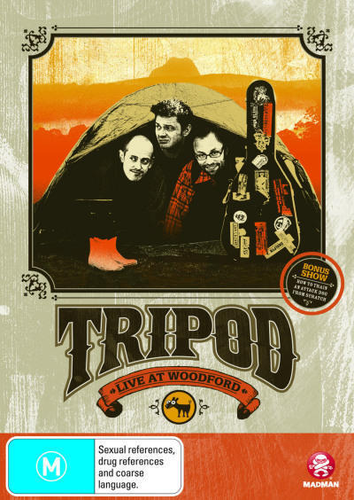 Tripod: Live at Woodford - DVD Movie - Comedy - NEW