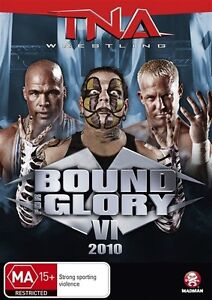 TNA Wrestling Bound for Glory VI (DVD, 2011) NEW/SEALED R4   2for$15