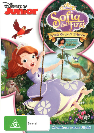 Sofia the First: Ready to be a Princess  - DVD - NEW Region 4