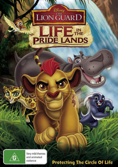 Lion Guard: Life in the Pride Lands  - DVD - NEW Region 4
