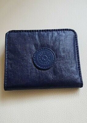 Kipling Florencia Blue Navy Small Wallet Cardholder Coin Purse