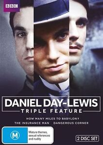 Daniel Day-Lewis (DVD, 2013, 2-Disc Set) NEW AND SEALED