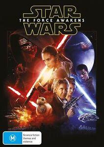 Star Wars Episode VII : THE FORCE AWAKENS : NEW DVD
