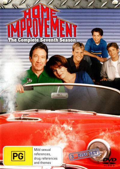 Home Improvement: Season 7 (3 Discs)  - DVD - NEW Region 4