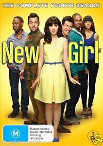 NEW GIRL : SEASON 4 : NEW DVD