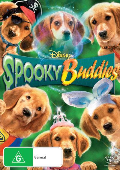 Spooky Buddies * NEW DVD * (Region 4 Australia)