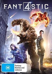 Fantastic 4 Four (DVD, 2015) : NEW