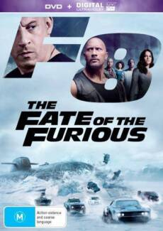 The Fate of the Furious - DVD - R4 - BRAND NEW & SEALED