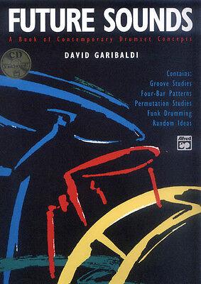 David Garibaldi Future Sounds Noten für Schlagzeug mit CD