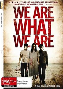 WE ARE WHAT WE ARE...REG 4...NEW & SEALED