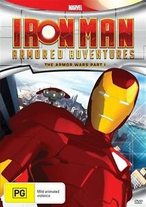 Iron Man Armored Adventures - Armor Wars : S2 #1(DVD, 2012) BRAND NEW ... R4