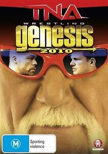 TNA Wrestling Genesis 2010 NEW/SEALED (DVD) Hulk Hogan Hulkamania returns!