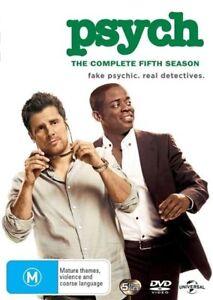 Psych : Season 5 (DVD, 2013, 5-Disc Set), NEW SEALED REGION 4