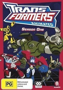 Transformers - Animated : Season 1 (DVD, 2013, 2-Disc Set) - FREE POSTAGE