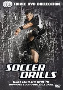 Soccer Drills - Improve Your Football Skill (DVD, 2014, 3-Disc Set) + BONUS DVD