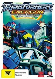 Transformers Energon Collection One DVD