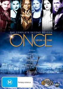 ONCE UPON A TIME TV Series: SEASON 2 = NEW R4 DVD