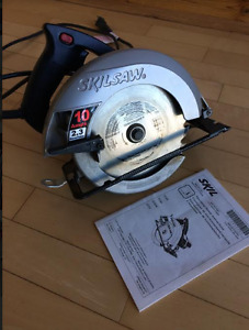 Skilsaw 10 amp 2.3 horsepower Hardly Used!