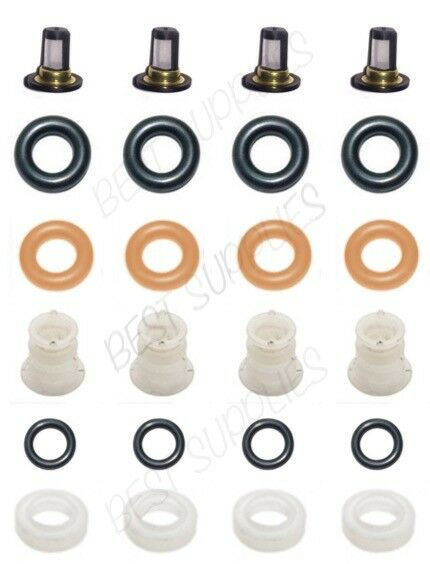 Fuel Injector Service Repair Kit Filters O-rings Seals Grommets RSX TSX CIVIC