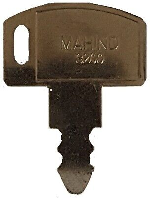 Mahindra Tractor Ignition Key Fits Models 2810 3510 And 4110
