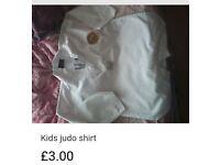 Kids Judo/karate shirt for age 7-8 years