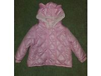 Baby winter Jacket size 3-6 months