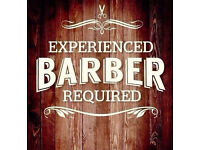 Experienced barber required (still available)