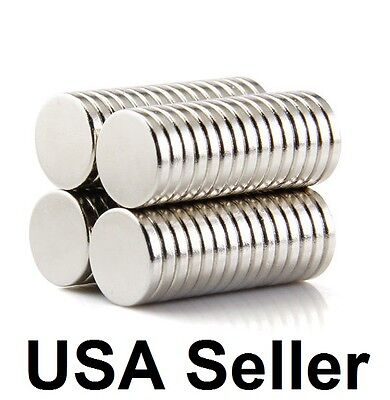 lot 100 50 12mm X 2mm Neodymium Disc Strong Rare Earth N50 Small Fridge Magnets