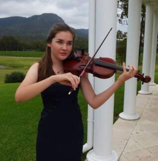 Wedding Violin music in the Hunter Valley