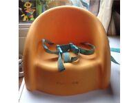 Highchair booster seat