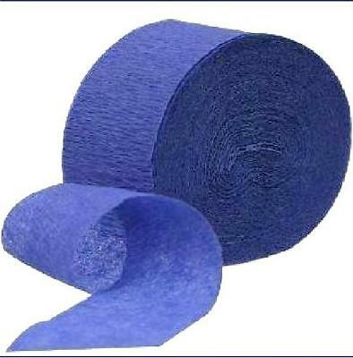 Blue Streamers (Bright Blue Crepe Streamer - 1/pk - 81 ft/pk #)