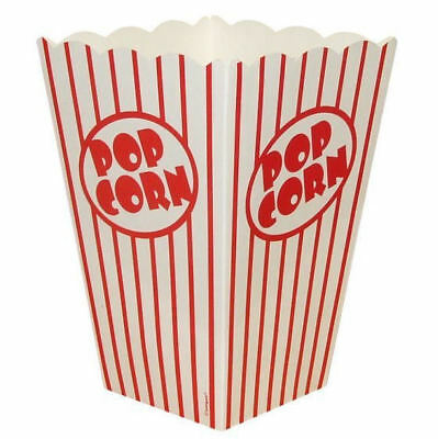 Large Popcorn Boxes (10 Large Popcorn Boxes - Gift Party/Loot/Wedding Cinema Empty Pop)