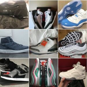 Size 10-11.5 Jordan 1 Shadow J2 decon J3 Tinker/white cement etc