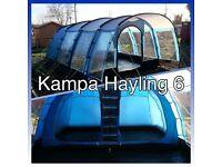 Tent 6 berth kampa haling