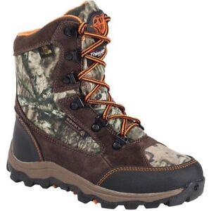 Rocky Camo Boots Boys 6 Hunting