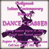 Bollywood, Indian Contemporary, Bhangra Dance Classes