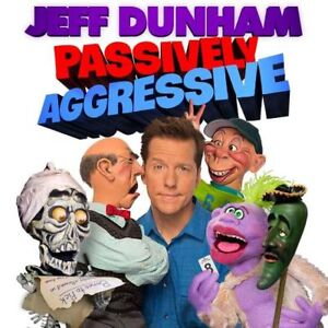 *JEFF DUNHAM UP CLOSE AND PERSONAL,5TH ROW FROM THE STAGE! $95