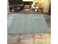 HAND MADE WOOL RUGS. 6 COLOURS, BRAND NEW AND WRAPPED 3 SIZES!