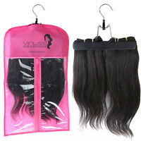Suit Case Package with Hanger for Virgin Hair Extensions Storage