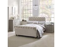 New BHS sleigh bed
