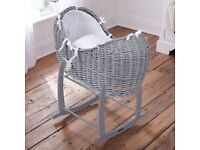 Moses Basket Pod, Rocking Stand and fitted sheets