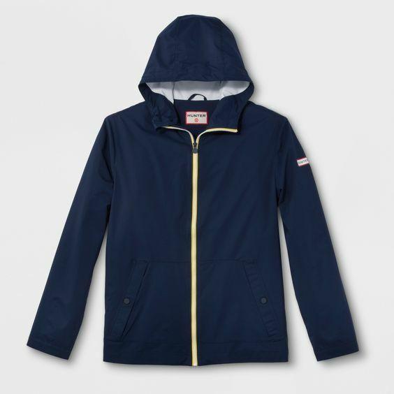 Hunter for Target Unisex Adult Rain Coat – Navy (S) Clothing