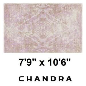 "NEW CHANDRA TAYLE MODERN AREA RUG 137978328 7'9"" x 10'6"" RUGS FLOORING CARPET CARPETS DECOR ACCENTS MAT MATS PAD PADS..."