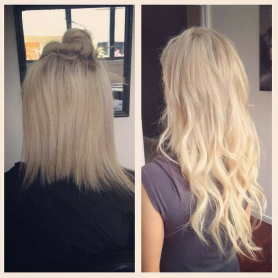 Hair Extensions In Time For Xmas Fusion Bonds Tape Ins Micro Rings