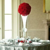 "24"" reversible glass vase for sale $12.99 wedding centrepiece"