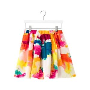 Kate Spade Saturday Gather-Round Mini Skirt in Abstract