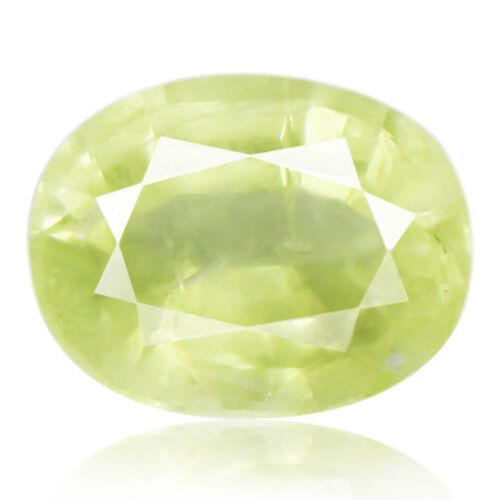 Tsavorite Family Garnet 5.70ct yellowish green color 100% natural earth mined