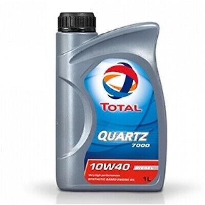 1 LT Olio Motore QUARTZ Energy 7000 10W-40 ACEA A3/B4 1 Litro