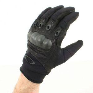 Mens Oakley Si Factory Pilot Kevlar knuckle Gloves